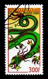 Ve el dragón de las FO, año del serie del dragón, circa 2000 Foto de archivo libre de regalías