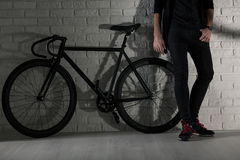 We've got style: me and my bike Stock Images