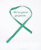 We've got to go green. Stock Images