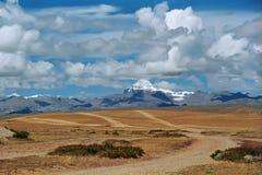 Vea al monte Kailash sagrado 6714 m Fotografía de archivo