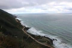 Vea desde arriba de la carretera 1, Big Sur, California foto de archivo libre de regalías