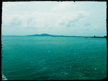 Vea en el mar Foto de archivo libre de regalías