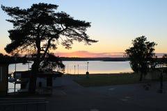 Vea en Karlskrona 3 fotos de archivo libres de regalías