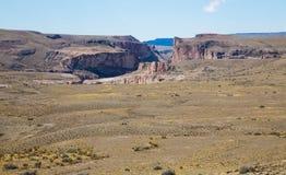 Vea en las colinas de los Andes Foto de archivo libre de regalías