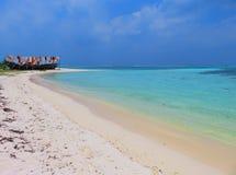 Vea en las islas de Maldives del aeroplano Fotos de archivo