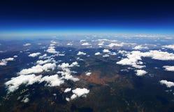 Vea la nube en el cielo Fotos de archivo libres de regalías