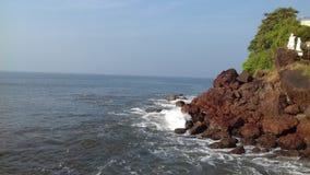 Vea la playa Fotos de archivo libres de regalías