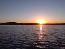 Vea la puesta del sol Fotos de archivo