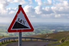 Vea a partir de nueve estándares Rigg, Cumbria, Reino Unido Foto de archivo libre de regalías