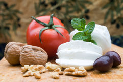 Veagetarian食物 库存图片