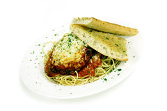 Veal or chicken parmesean Stock Image