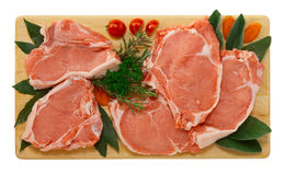 Veal chop Royalty Free Stock Photography