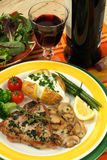 Veal chops stock image