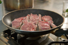 Veal chops Stock Photo