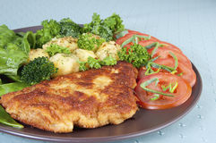 Veal cutlet Royalty Free Stock Photo