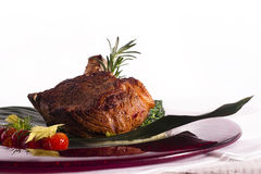 Veal cutlet Royalty Free Stock Photography