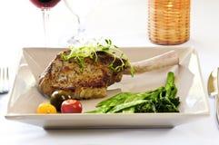 Veal dinner Stock Image