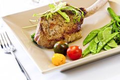 Veal dinner Royalty Free Stock Photography