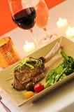Veal dinner Stock Photo