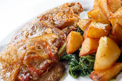Veal a la Romana Stock Images