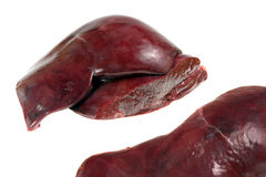 Veal liver Stock Photos