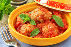 Veal meatballs Royalty Free Stock Photo