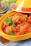 Veal meatballs Stock Image