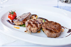 Veal medallions Royalty Free Stock Photos
