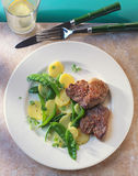 Veal medallions Royalty Free Stock Photography