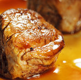 Veal Medallions. Stock Photo
