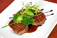 Veal medallions Royalty Free Stock Image