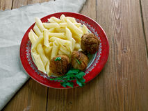 Veal Polpette Royalty Free Stock Photos