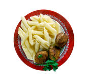Veal Polpette Royalty Free Stock Images