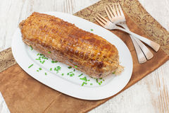 Veal roulade Stock Image