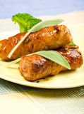 Veal Saltimbocca with Sage Royalty Free Stock Image