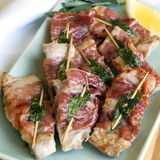 Veal Saltimbocca Royalty Free Stock Photos
