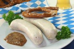 Veal sausage Stock Photos