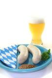 Veal sausage Royalty Free Stock Image