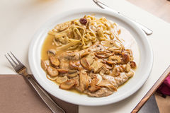 Veal Scallopini Stock Images