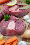 Veal Shanks stock image