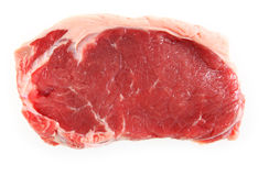 Veal sirloin steak isolated Stock Photos