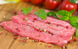 Free Veal Steak ,raw , Close Up Royalty Free Stock Photos - 25260608