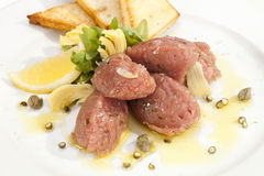 Veal Steak Tartar Stock Images