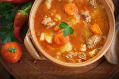 Veal stew Stock Image
