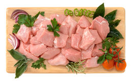 Veal stew royalty free stock images
