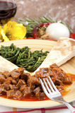 Veal stew heart of the hunter, Stock Image