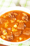 Veal tongue stew Royalty Free Stock Photo