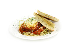 Vealor chicken parmesean 2 Royalty Free Stock Images