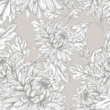 Veamless花卉样式 免版税图库摄影