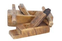 Vecchi aerei di legno immagine stock libera da diritti